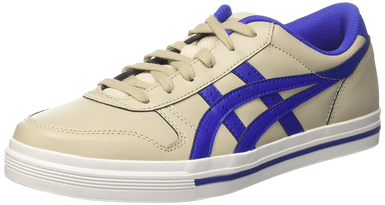Asics Herren Aaron Sneaker, Grau  415 EU|Grau (Feather Grey/Asics Blue)