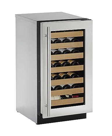 U-Line U2218WCS00A Built-in Wine Storage 18u0026quot; Stainless Steel  sc 1 st  Amazon.com & Amazon.com: U-Line U2218WCS00A Built-in Wine Storage 18