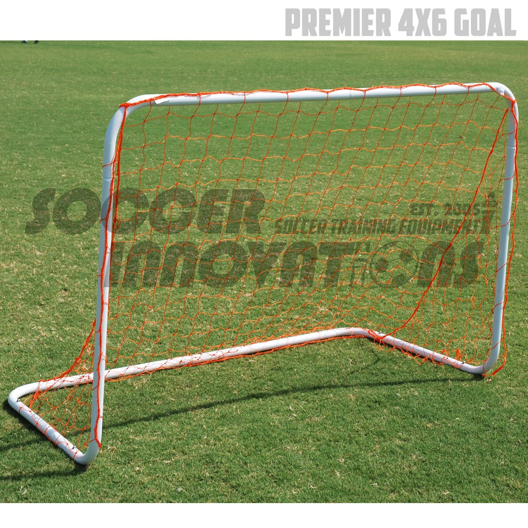 Soccer Innovations 4 ' x6 ' PremierアルミポータブルGoal B075VDYPFX