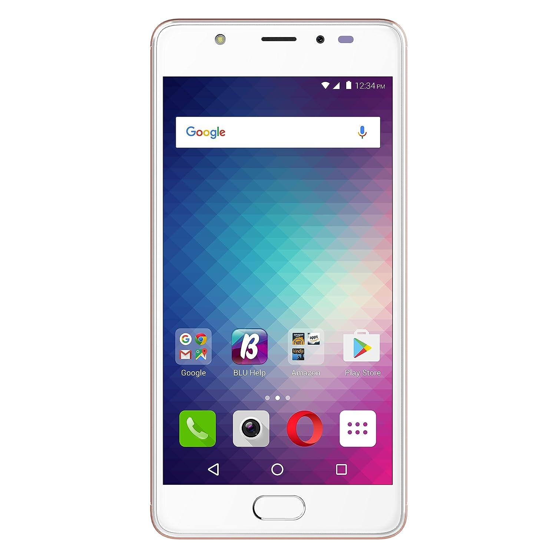 BLU LIFE ONE X2-4G LTE Unlocked Smartphone -64GB+4GB RAM -Rose Gold
