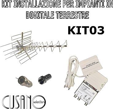 Kit Antena TV Cusano Selection KIT03: Amazon.es: Electrónica