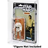 10 Pack GW Acrylic MOC Carded Figure Case Star Wars The Vintage Collection