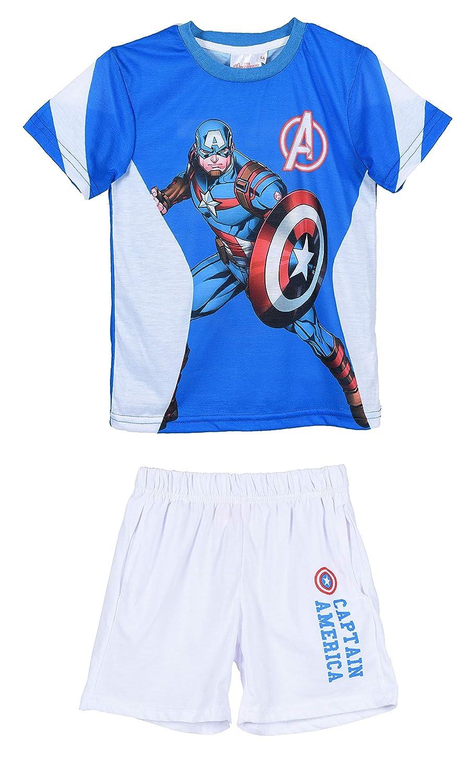 Marvel Avengers Boys T Shirt Shorts