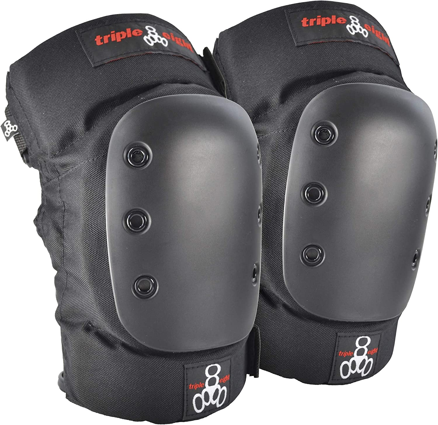 B0000ASZ9P Triple Eight KP 22 Heavy-Duty Skateboarding Knee Pads (Pair) 81tJb2BxVH8L