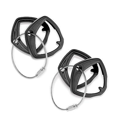 Big Bike Parts 41-182BK Black Can-Am Spyder Key Covers, 2 Pack: Automotive [5Bkhe0101075]