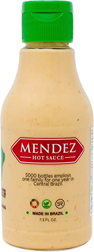 Mendez Hot Sauce - Brazilian - Vegan - No Sugar - 7oz