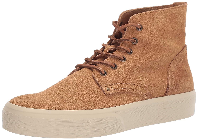 - Frye Men's Beacon LACE UP Sneaker, Brown, 9.5 M