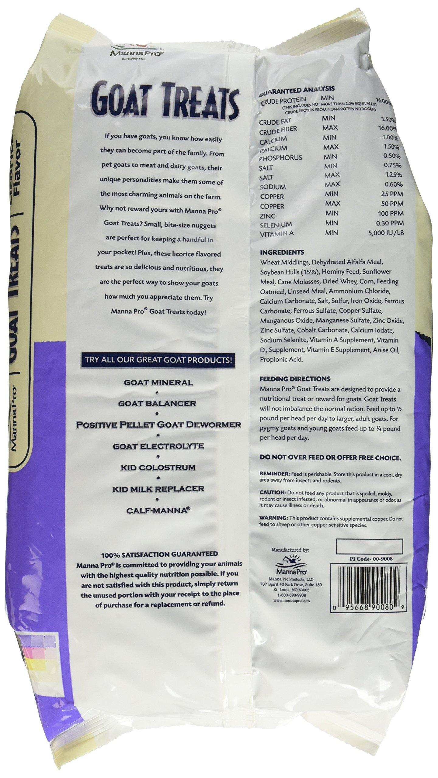 Manna Pro Licorice Goat Treats, 6 lb by Manna Pro (Image #3)