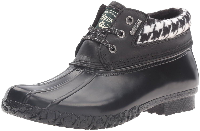 G.H. Bass & Co.. Women's Dorothy Rain Boot B01D0RLLV6 6 B(M) US|Houndstooth/Black