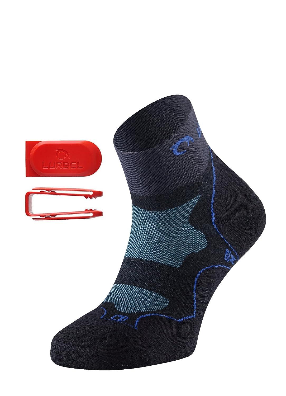 Lurbel DESAFIO Kurze Premium Laufsocken | Trailrunning Socken, für Männer & Frauen, geruchshemmend, atmungsaktiv, mit Polsterung und Blasenschutz