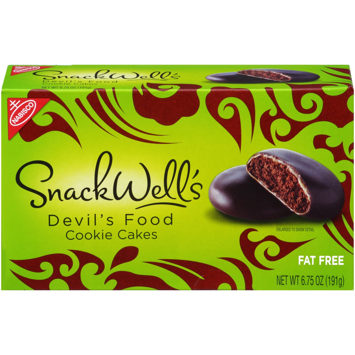 Snackwell's Devil's Food Cookies, 6.75-Ounce Boxes (Pack of 12)