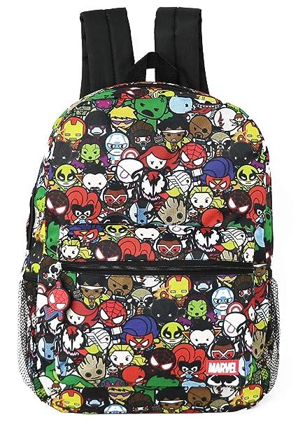 f6e5832e4757 Marvel Kawaii Avengers Superheroes Boy's 16 Inch Backpack (Avengers Kawaii)