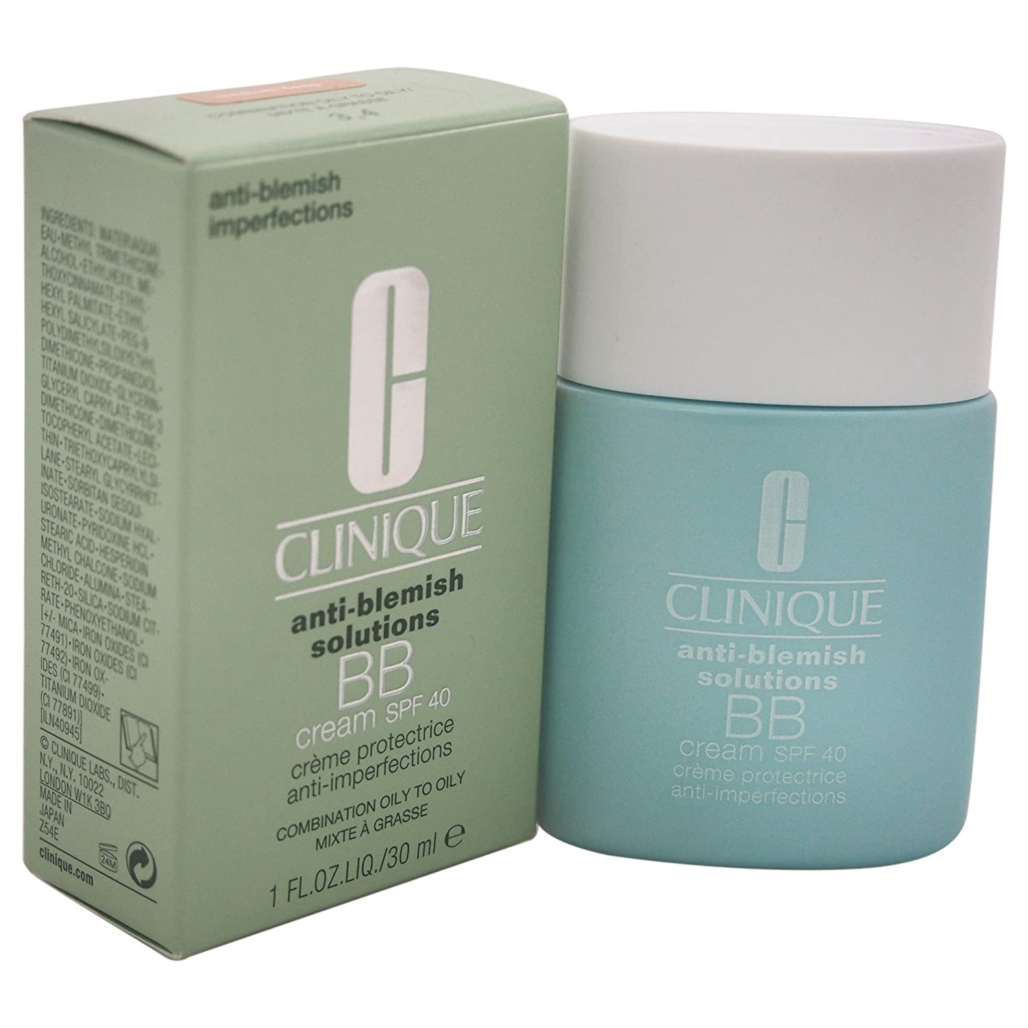 Anti-Blemish Solutions BB Cream SPF40 by Clinique Medium Deep / 1 fl.oz. 30ml 0020714694661 CLI00474_-30ML