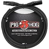Pig Hog PHM6 High Performance 8mm XLR Microphone Cable, 6 Feet