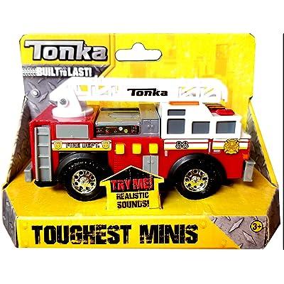 Tonka Toughest Minis Fire Department: Toys & Games