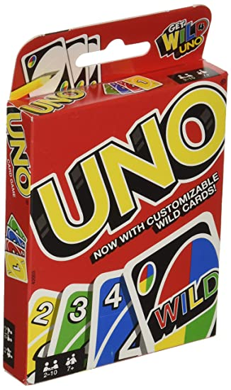 Buy Mattel Games 42003 Uno Card Game Online At Low Prices In India Amazon In