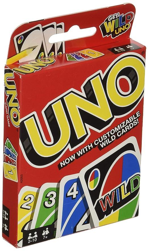 Mattel Juegos 42003 uno Juego de cartas