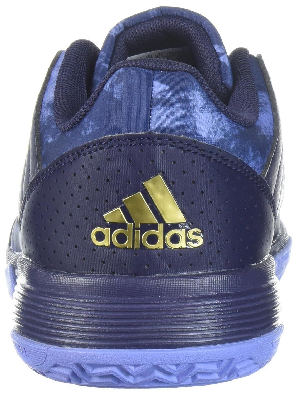 adidas Women's Ligra 5 W Tennis Shoe B072BWRY7G 9.5 B(M) US|Noble Ink/Metallic Gold/Chalk Purple