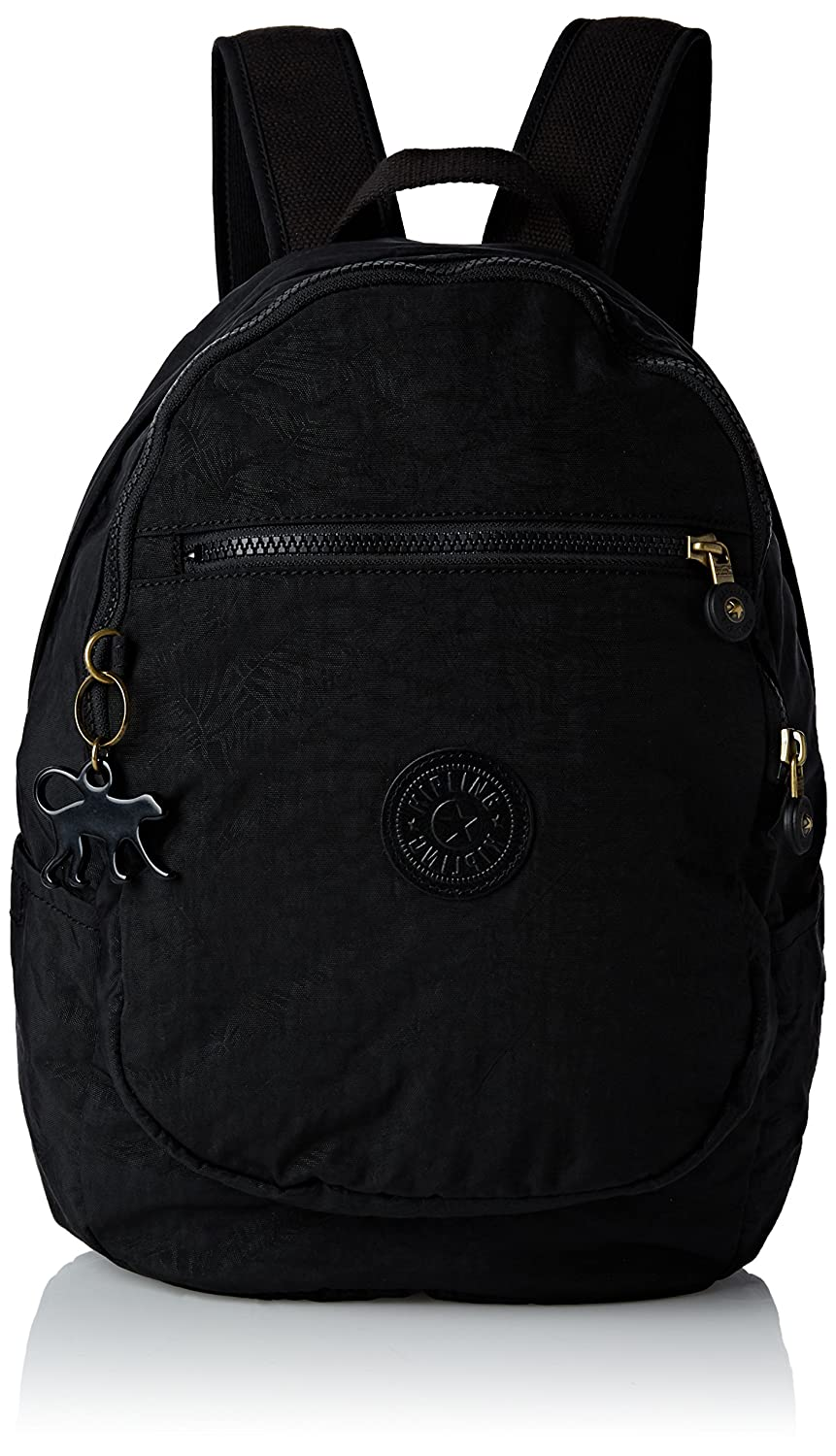 61215b6ebf Kipling Womens Clas Challenger Bp Backpack Handbag Black Leaf:  Amazon.co.uk: Shoes & Bags