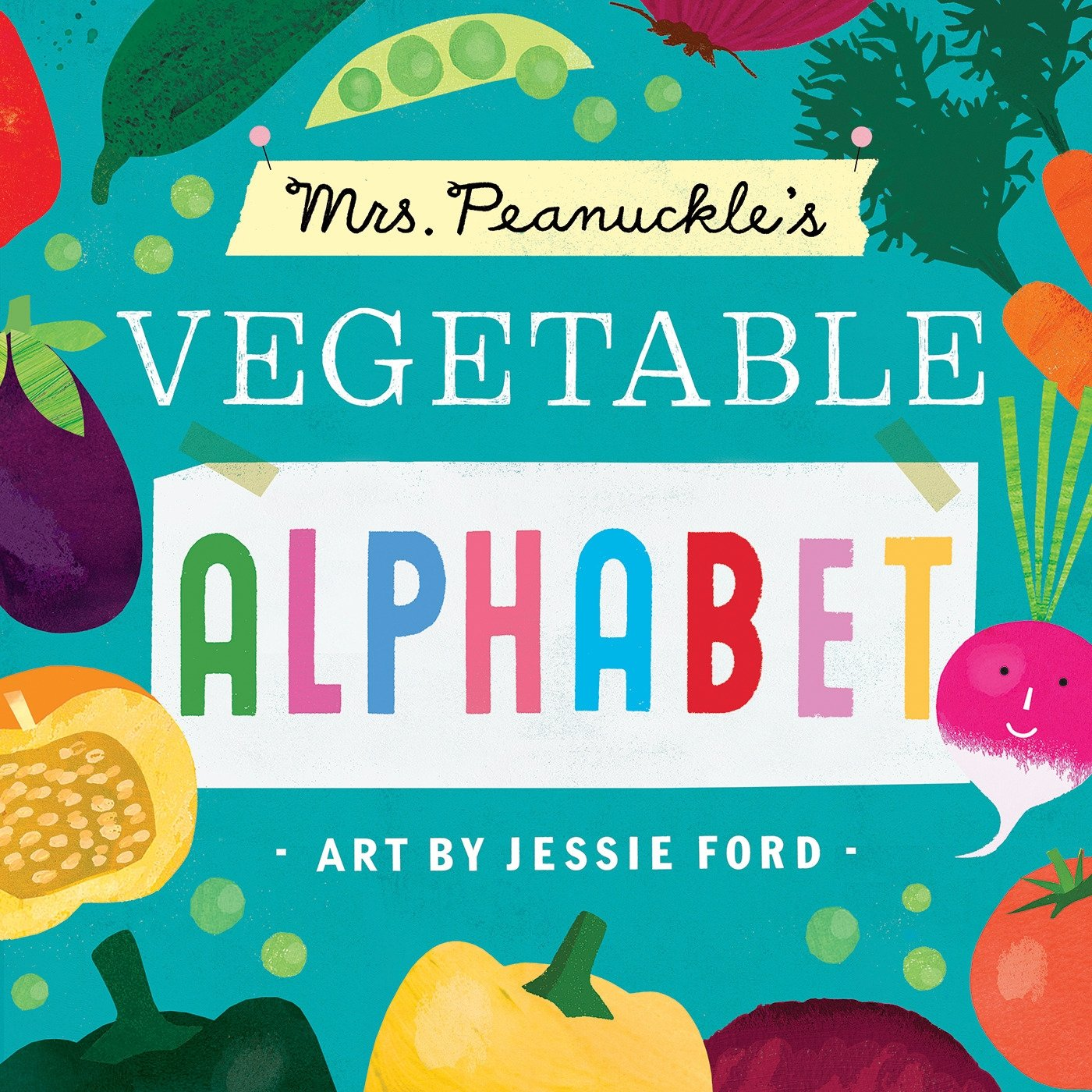 Mrs. Peanuckle's Vegetable Alphabet (Mrs. Peanuckle's Alphabet)