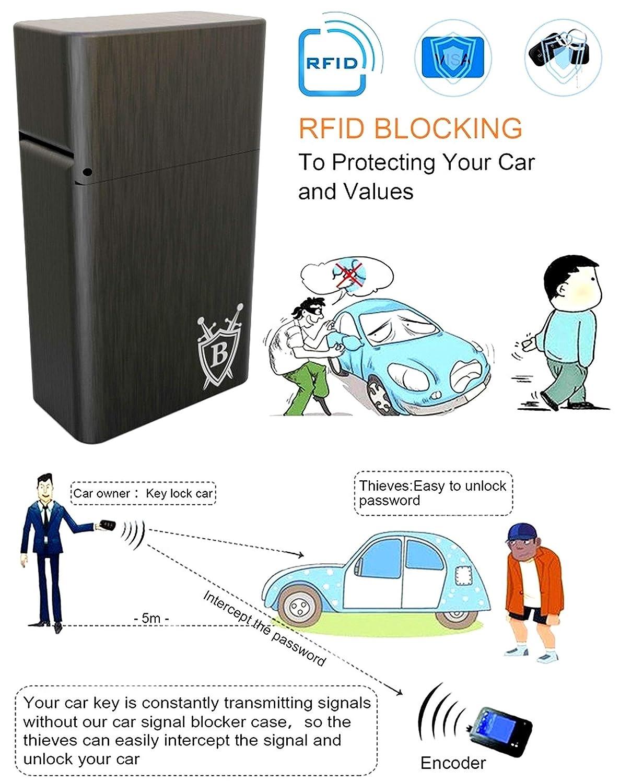 BRINGO Keyless Go antirrobo protector de auto RFID para ...
