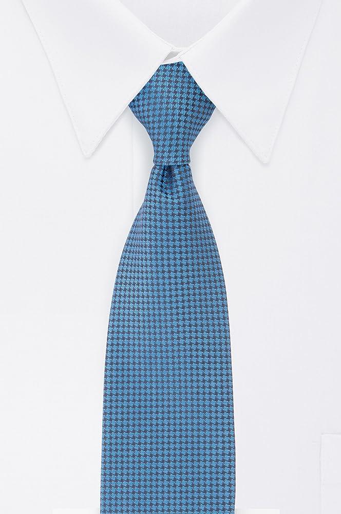 Calvin Klein HC Modern Gingham - Corbata para hombre - Azul - X ...