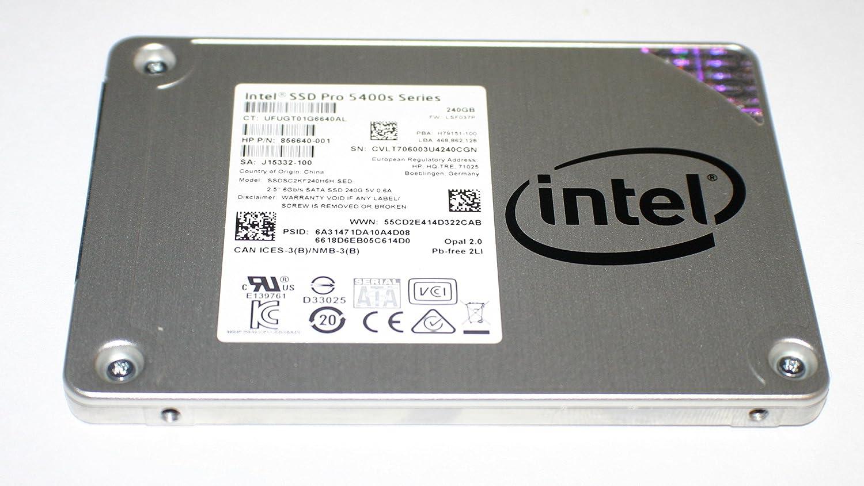 """Intel SSD Pro 5400s Series 2.5/""""6Gb//s SATA SSD 240GB SSDSC2KF240H6H For HP LAPTOP"""