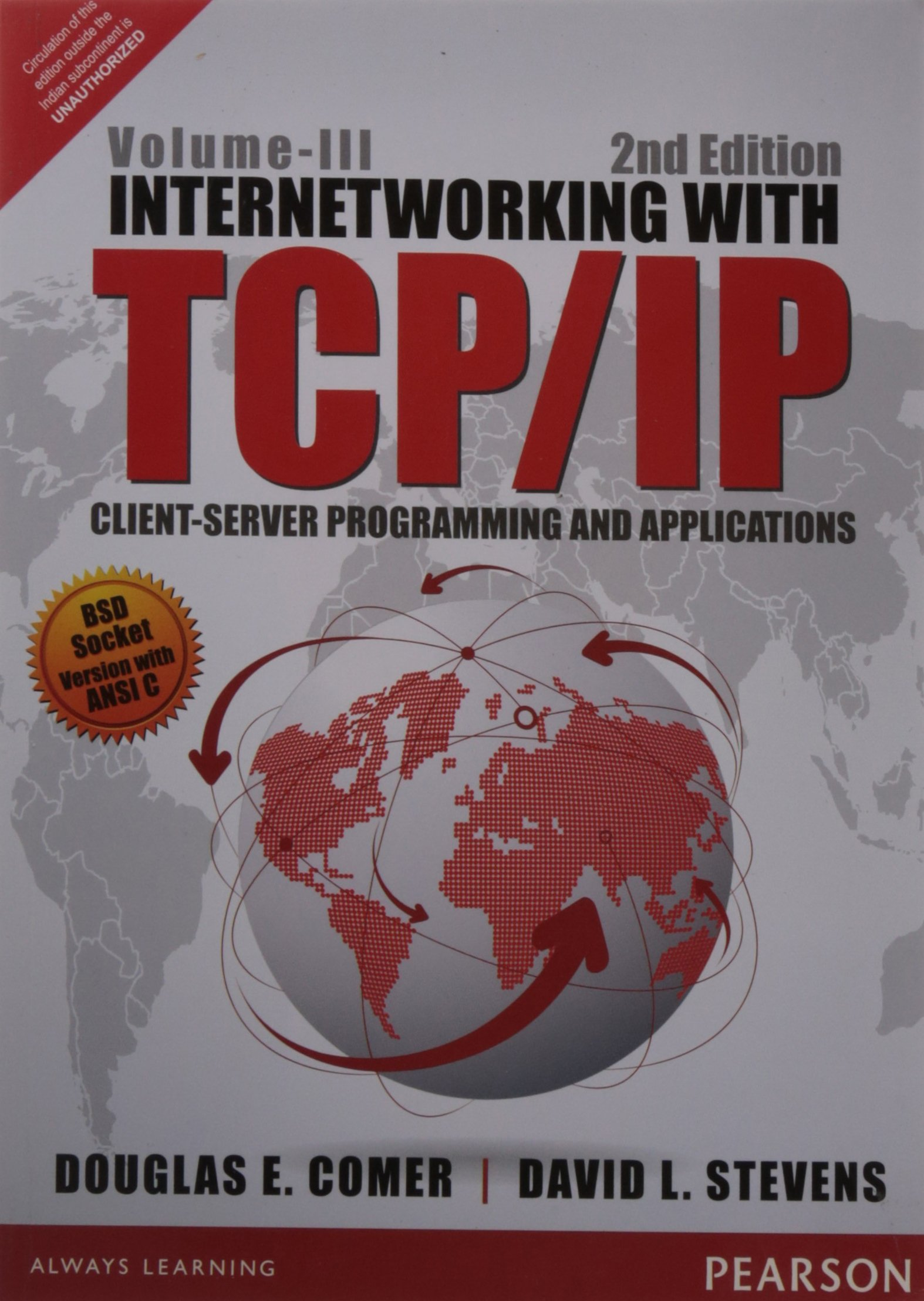 Internetworking with TCP/IP Client-Server Programming and Applications – Vol. 3