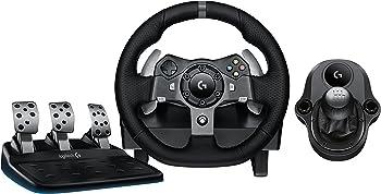 Logitech G920 Driving Force Racing Wheel + Shifter