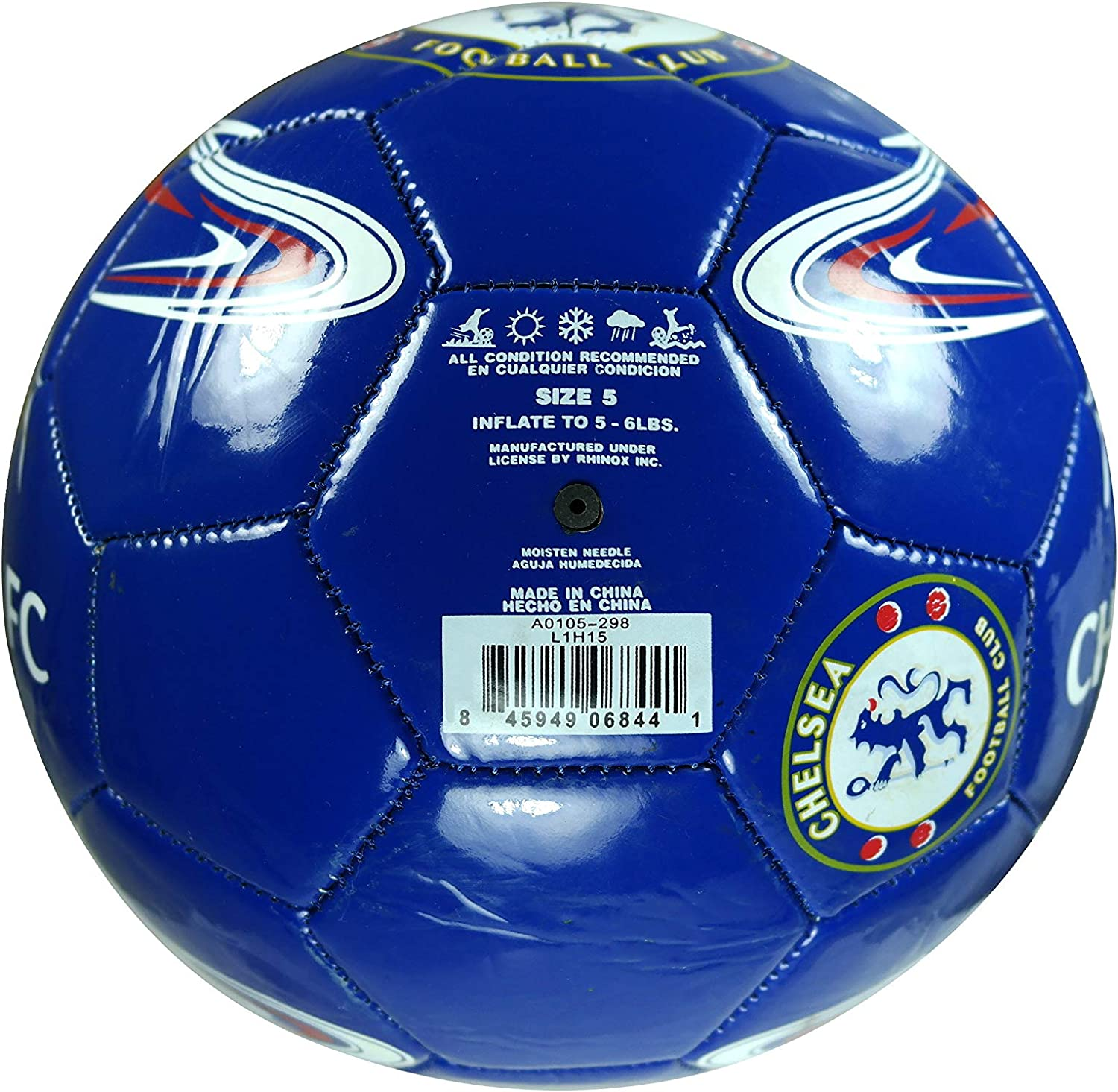 FC Chelsea Authentic Official Licensed Soccer Ball Size 5