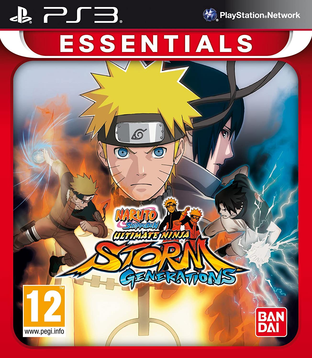 Naruto Shippuden Ultimate Ninja Storm Essentials (Ps3 ...