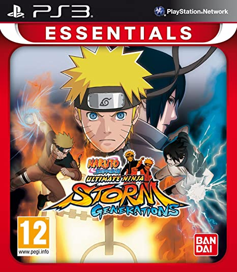 Amazon.com: Naruto Shippuden Ultimate Ninja Storm Essentials ...