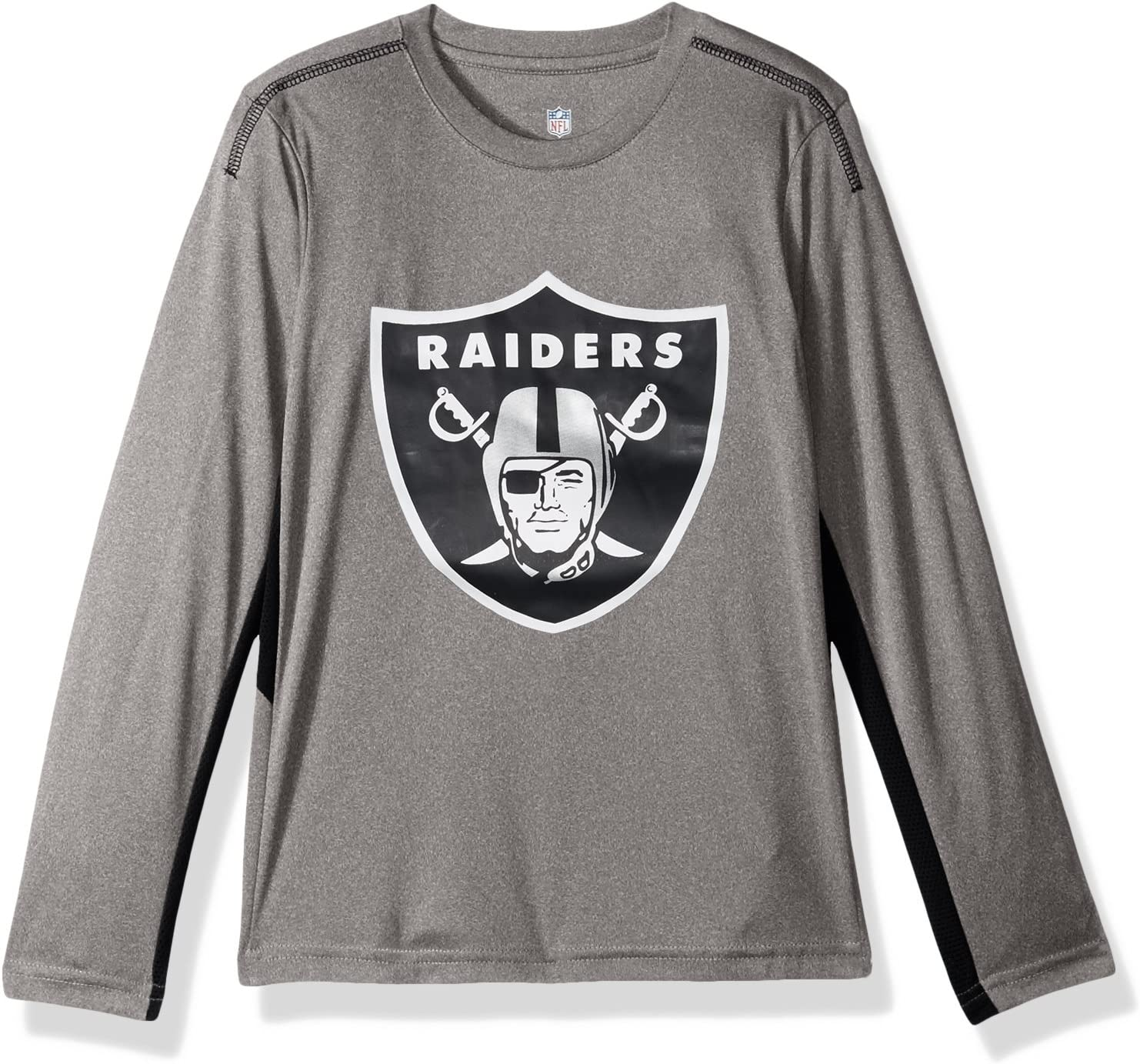 Outerstuff NFL Teen-Boys NFL Kids & Youth Boys Mainframe Long Sleeve Performance Tee : Clothing