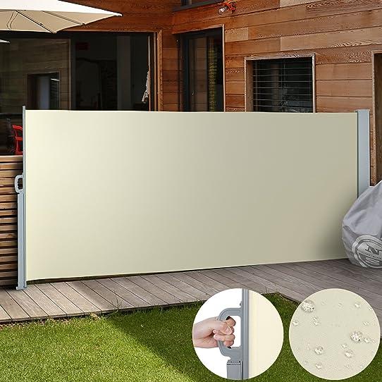 Jago - Store Latéral Paravent Extérieur Rétractable Taille/Coloris