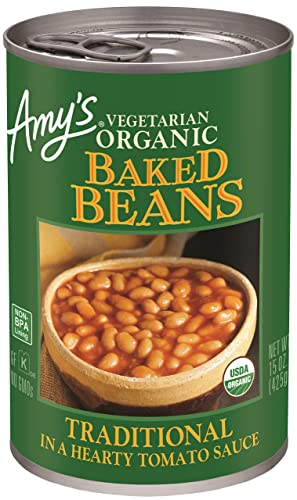 Amy's Organic Baked Beans in a Hearty Tomato Sauce