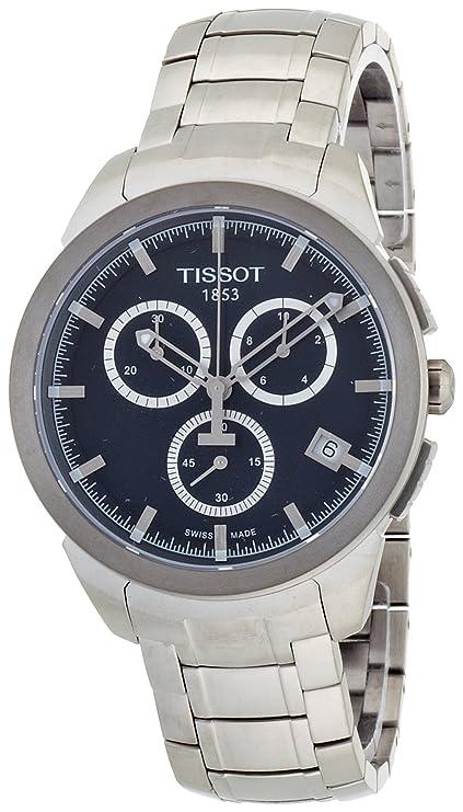 Amazon.com: Tissot Mens T069.417.44.041.00 Quartz Titanium Blue Dial Chronograph Watch: Tissot: Watches