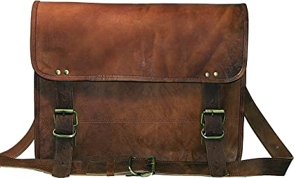 Image Unavailable. Image not available for. Colour  CraftShades Leather  Sling Side Bag for Men ... 0860f8d001278