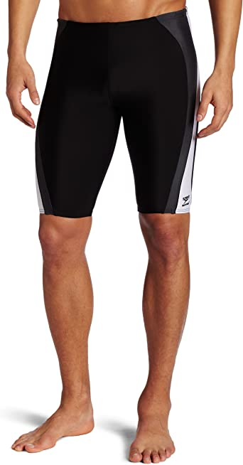 Speedo Men/'s Rapid Spliced Jammer Swimsuit Jammer Size 38