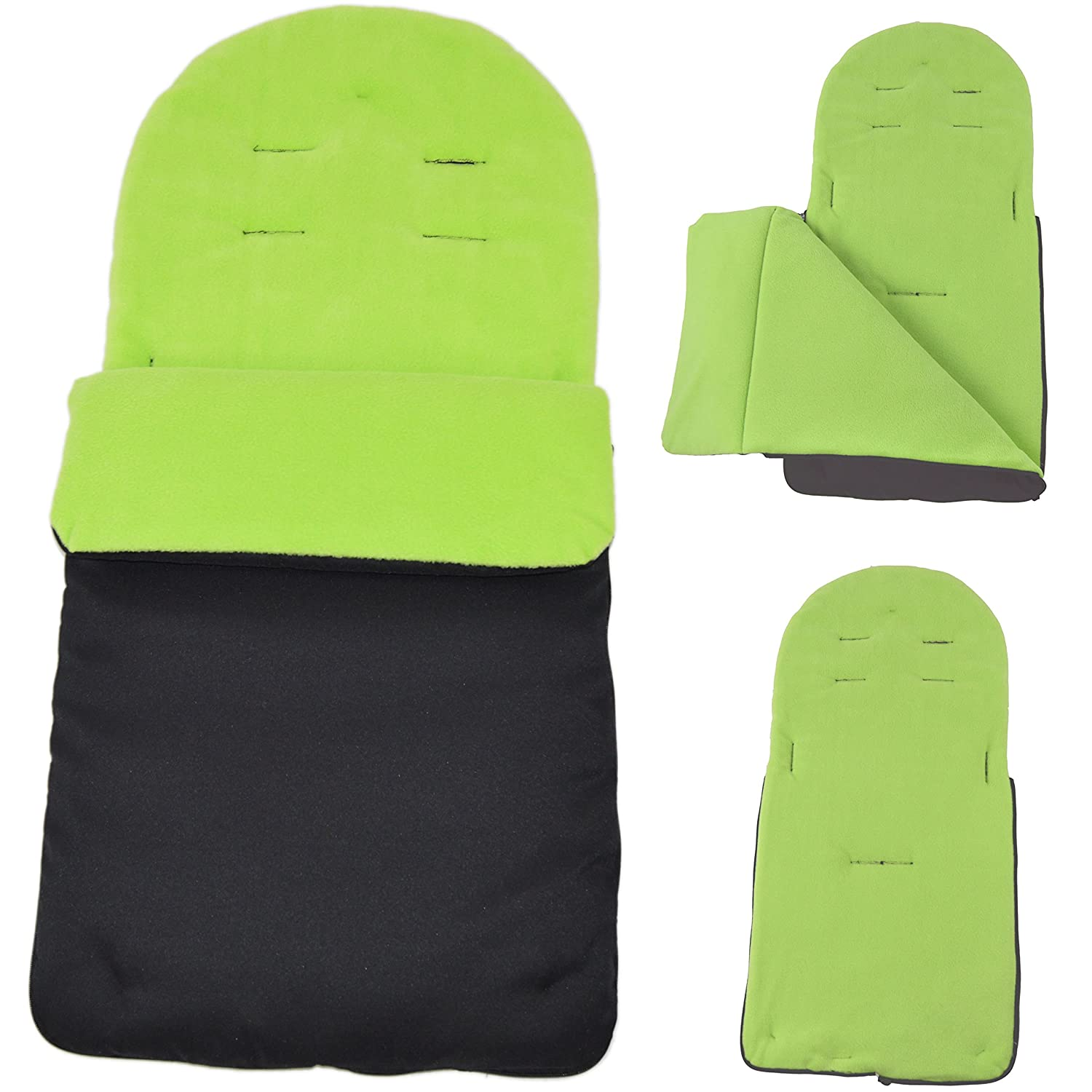 Saco/Cosy Toes Compatible con Bugaboo Bee Lime For-Your-Little-One