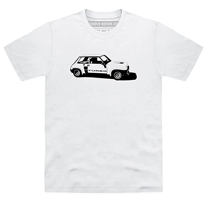 R5 Turbo High-Performance Hatchback Camiseta, Para hombre: Amazon.es: Ropa y accesorios