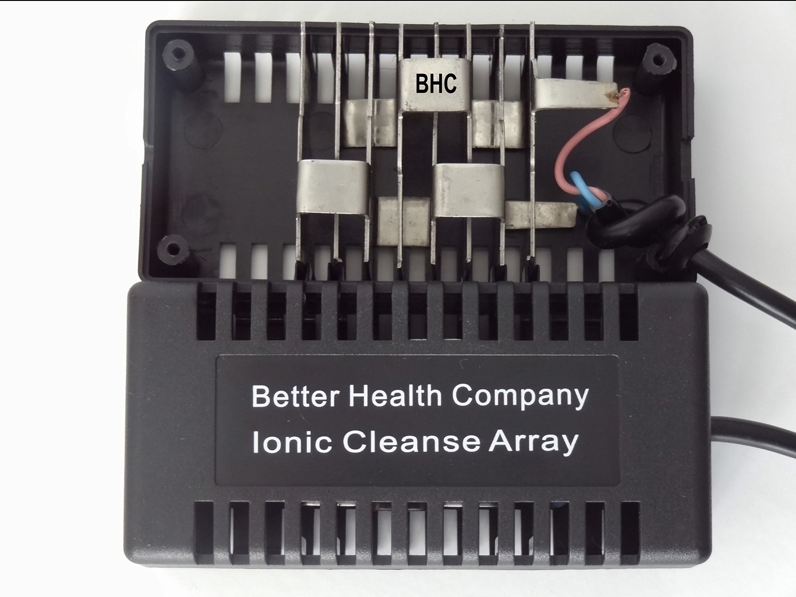 Rectangular Black Ionic Cleanse Detox Foot Spa Arrays by Better Health Company by Better Health Company (Image #2)