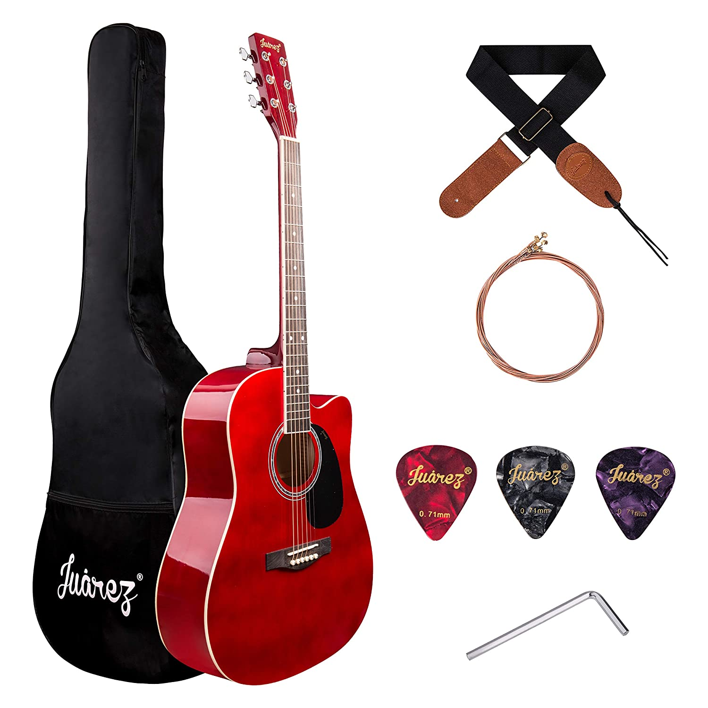 JUAREZ Arpeggio 41 Inch Acoustic Guitar