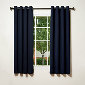 Curtains Ideas buy insulated curtains : Amazon.com: Best Home Fashion Thermal Insulated Blackout Curtains ...