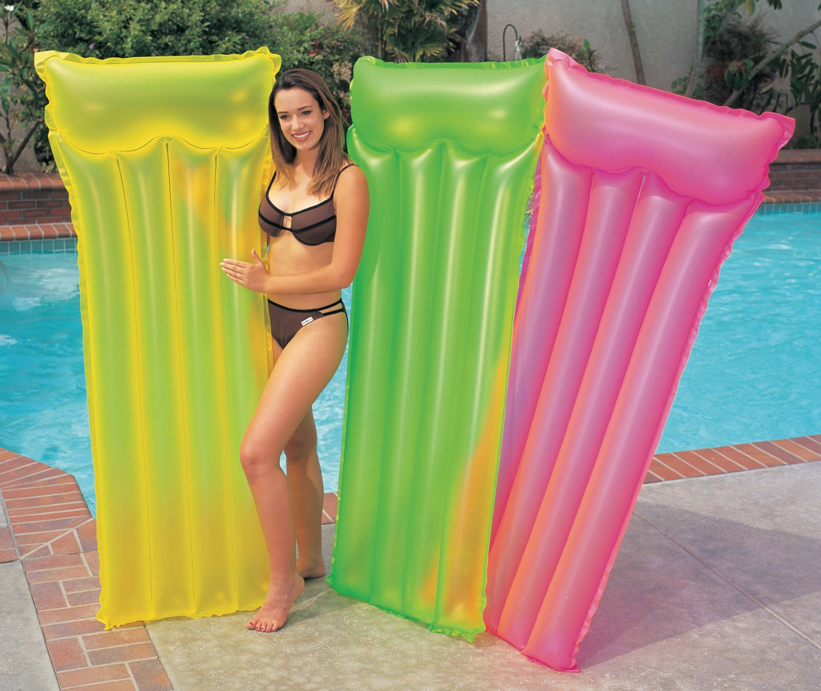 Intex Neon Frost Air Mat (Colors May Vary) 2