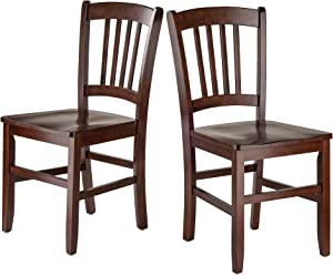 Winsome Wood 94245-WW Madison Seating, Walnut