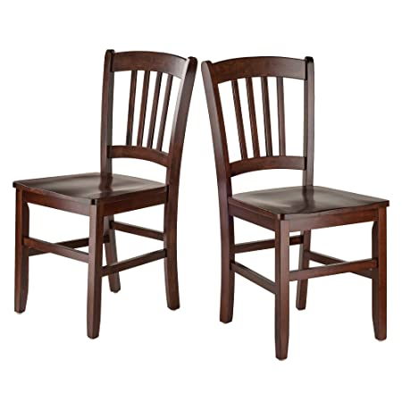 Winsome Wood 94245-WW Madison Seating Walnut
