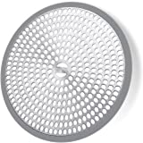 LEKEYE Shower Drain Hair Catcher/Strainer/Stainless Steel and Silicone