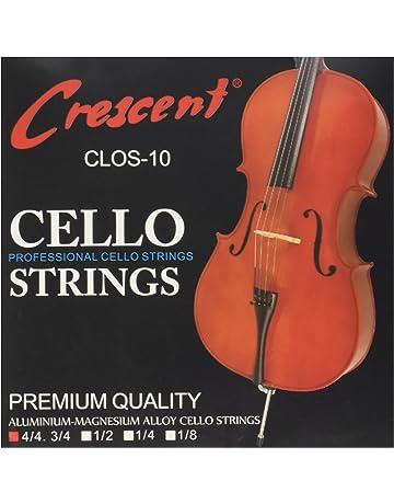 1//2 Embajador CT135/cromado cinta herida Juego Cuerdas para violonchelo