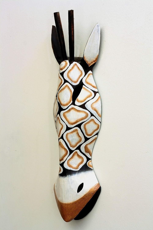 Sunlover Mini Giraffe Hand Carved Tribal Mask AM-30A 30cm