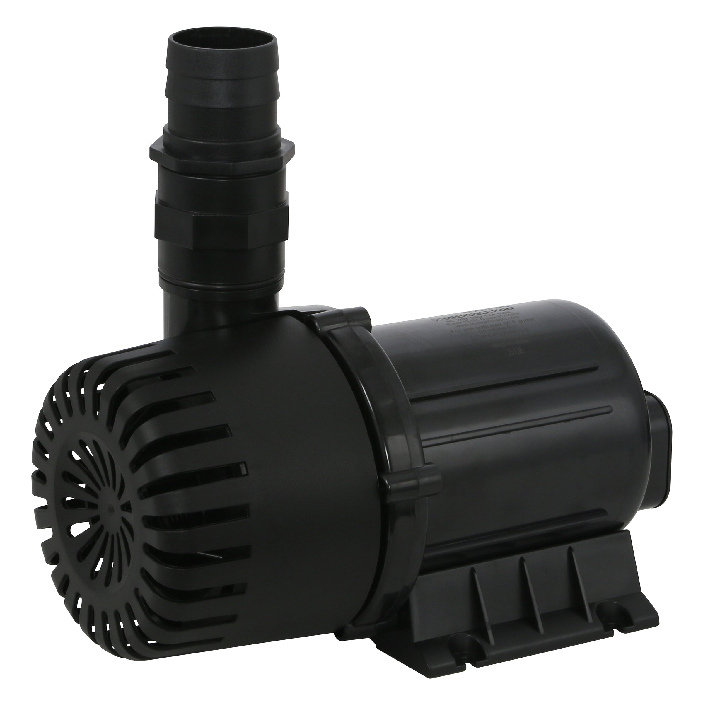 EcoPlus 3175 GPH (12018 LPH, 160W) Submersible Water Pump w/ 30 ft Power Cord | Aquarium, Fish Tank, Fountain, Pond, Hydroponics by EcoPlus